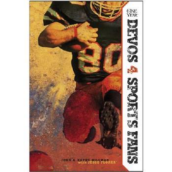 The One Year Devos 4 Sports Fans, by John Hillman and Kathy Hillman, Paperback