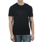 NOTW, Embossed Classic Logo, Men's Short Sleeve T-shirt, Black, S-2XL