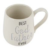 Enesco, Best Godfather Ever Coffee Mug, Ceramic, White, 16 Ounces