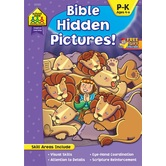 School Zone,Bible Hidden Pictures, by Linda Standke and Julie Anderson, Paperback