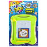 Ja-Ru Inc., Play, Scribble Slate Magnetic Tablet, 4 1/2 x 6 inches