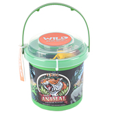 Wild Republic, Animal Mini Bucket Set, 15 Pieces