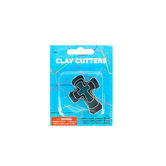 Makin's USA, Cross Clay Cutter Set, 3 Count