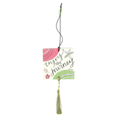 Brownlow Gifts, Simple Inspirations, Enjoy The Journey Car Air Freshener, Vanilla Scent, Set of 2