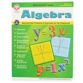 Carson-Dellosa, Algebra Math Activity Workbook, 77 Pages, Grades 5-12