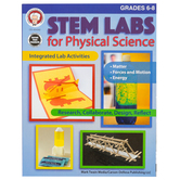 Carson-Dellosa, STEM Labs for Physical Science, Grades 6-8, Reproducible, 64 Pages