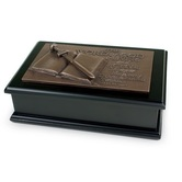 The Word Of God - Bible Sculpture Box