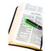 KJV Large Print Compact Bible, Bonded Leather, Black