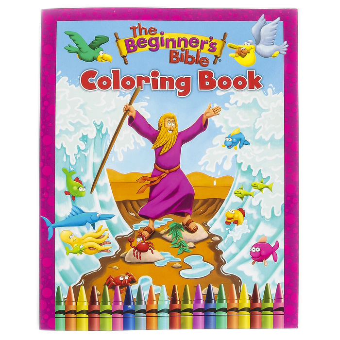 - Zonderkidz, The Beginners Bible Coloring Book, Paperback, 63 Pages, Ages 4  And Up Mardel 3793106