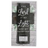 Renewing Faith, The Lord Is My Light 2021-2023 Pocket Planner, 3 1/2 x 6 1/2 inches