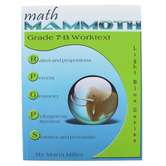 Math Mammoth, Grade 7-B Worktext, Light Blue Series by Maria Miller, Paperback, Grade 7