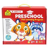 School Zone, Preschool Full Learning Program, Ages 3-5