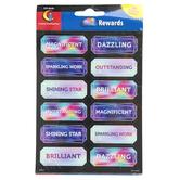 Creative Teaching Press, Mystical Magical Reward Stickers, Multi-Colored, 60 Stickers