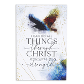 Dexsa, Philippians 4:13 I Can Do All Things Tabletop Plaque, MDF, 6 x 9 inches