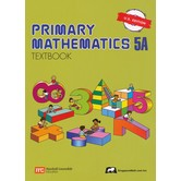 Singapore Math, Primary Math Textbook 5A, U.S. Edition, Paperback, 96 Pages, Grades 5-6