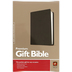 NLT Premium Gift Bible, Duo-Tone, Black