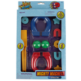 Toysmith, Mighty Magnets, 11 Pieces, Ages 6 and up
