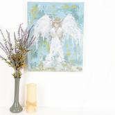 Renewing Faith, Praying Angel Wall Art, Canvas, 20 x 16 inches