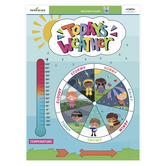 Renewing Minds, Weather Chart, Multi-Colored, 17 x 22 Inches, 1 Each