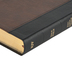 KJV Large Print Personal Size Reference Bible, Imitation Leather, Black & Brown, Thumb Indexed
