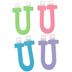 Glitter Foam Alphabet Letter Upper Case - U, 4 x 5.5 x .50 Inches, 1 Each, Assorted Colors