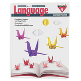 Newmark Learning, Meaningful Mini-Lessons and Practice Language Resource Book 4, 144 Pages, Grade 4