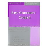 Easy Grammar Grade 6 Teacher