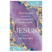 Salt & Light, Trust and Obey Church Bulletins, 8 1/2 x 11 inches Flat, 100 Count