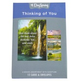 DaySpring, Max Lucado Let God Be God Thinking of You Boxed Cards, 12 Cards with Envelopes