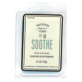 D&D, Soothe Amyris & Eucalyptus Wickless Fragrance Cubes, Blue, 2 1/2 ounces
