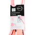 Cordinate, Designer 3-Outlet Extension Cord, 8-Foot, Indoor, Braided  Pink