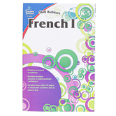 Carson-Dellosa, Skill Builders French I Elementary Workbook, Reproducible, 80 Pages, Grades K-5