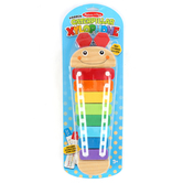 Melissa & Doug, Wooden Caterpillar Xylophone, Ages 3 to 6 Years Old, 3 Pieces