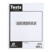 BJU Press, Algebra 2 Tests, 3rd Edition, Paperback, Grades 10-11