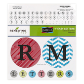 Isabella Collection, Round Bulletin Board Letters, Uppercase, 4 Inches, Assorted Colors, 179 Pieces