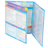 BarCharts Inc, Elementary School Tips and Tricks, Quick Study Academic Guide, Laminated, Grades K-5