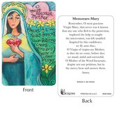 Dicksons, Memorare of Mary Pocket Card, 2 1/2 x 3 7/8 inches