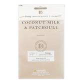 D&D, Coconut Milk & Patchouli Luxury Aromatic Sachets,  3/4 ounce Each, Set of 3