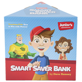 Dave Ramsey, Juniors Adventures Smart Saver Bank, Plastic, Grades PreK-7