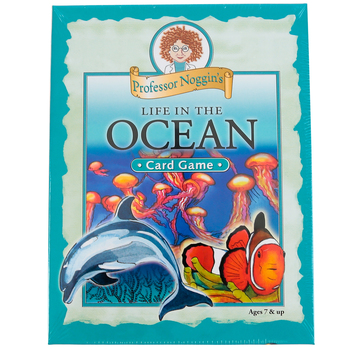 Outset Media Games, Professor Noggin's Life in the Ocean Card Game, Grades 2-Adult