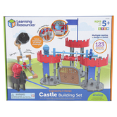 Learning Resources, Castle Engineering and Design Building Set, Multi-Colored, Ages 5 Years and Older, 123 Pieces