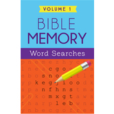 Bible Memory Word Searches: Volume 1, by Barbour