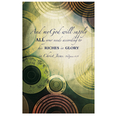 Salt & Light, And My God Will Supply Church Bulletins, 8 1/2 x 11 inches Flat, 100 Count
