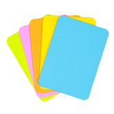Blank Playing Cards, Bright Multi-Colored, 2.5 x 3.5 Inches, Pack of 52