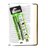 Zebrite, Double Ended Bible Highlighter, Pack of 1, Multiple Colors Available