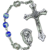 Imitation Gemstone Rosary