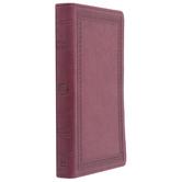 ESV Value Thinline Bible, Large Print, TruTone, Mahogany, Border Design