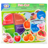 Little Folk Visuals, MyPlate Felt Set, 56 Pieces, Ages 3 and up