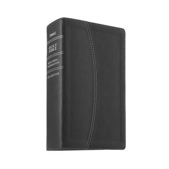 NLT Compact Bible, Large Print, Duo-Tone, Black and Onyx