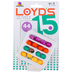 Ceaco, Loyd's 15: The Block and Roll Puzzle, 8 x 8 x 5 inches, Ages 8 and Older